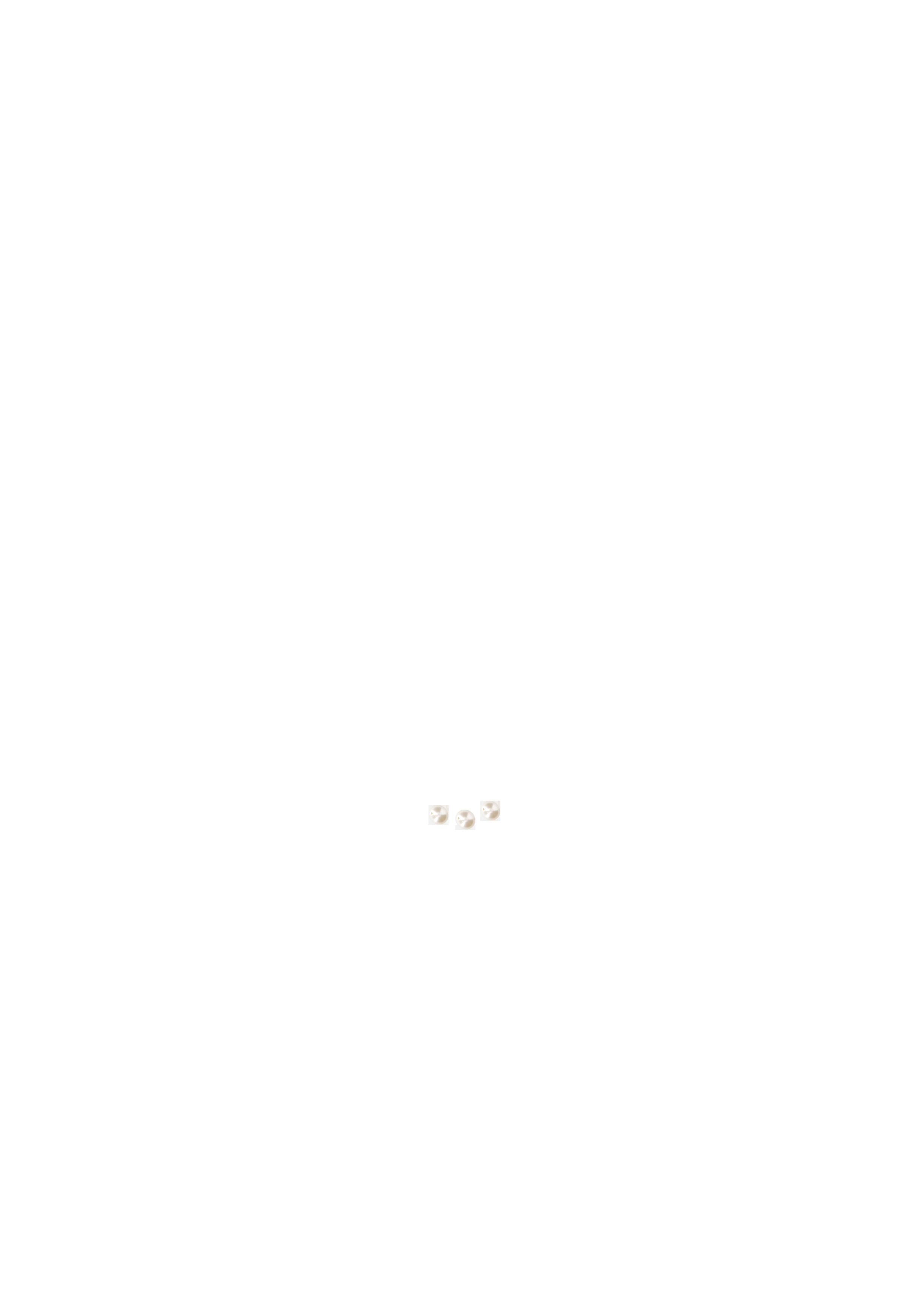 Perles 6mm Swarovski nacrée blanches x 3