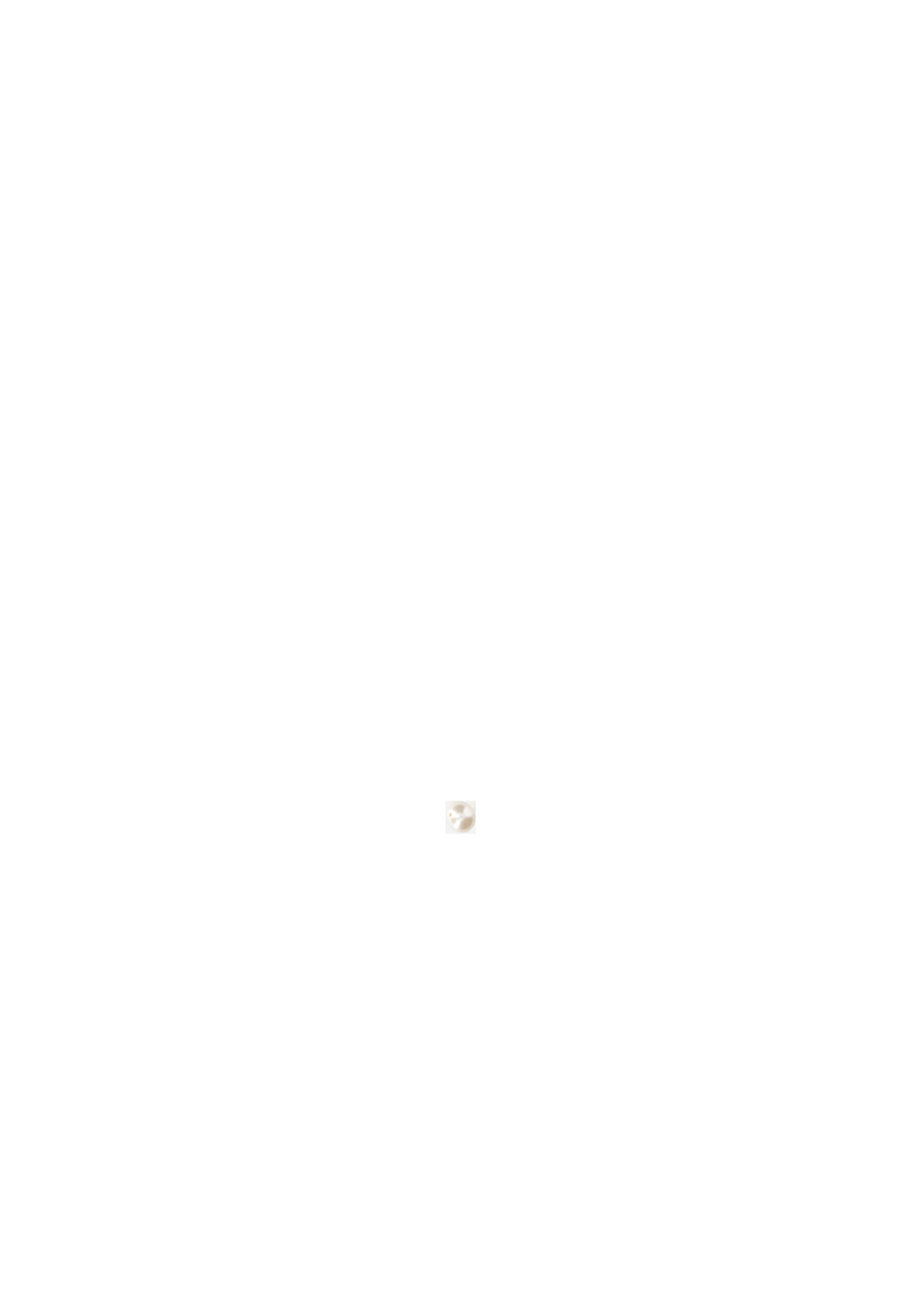 Perle 8mm Swarovski nacrée blanche