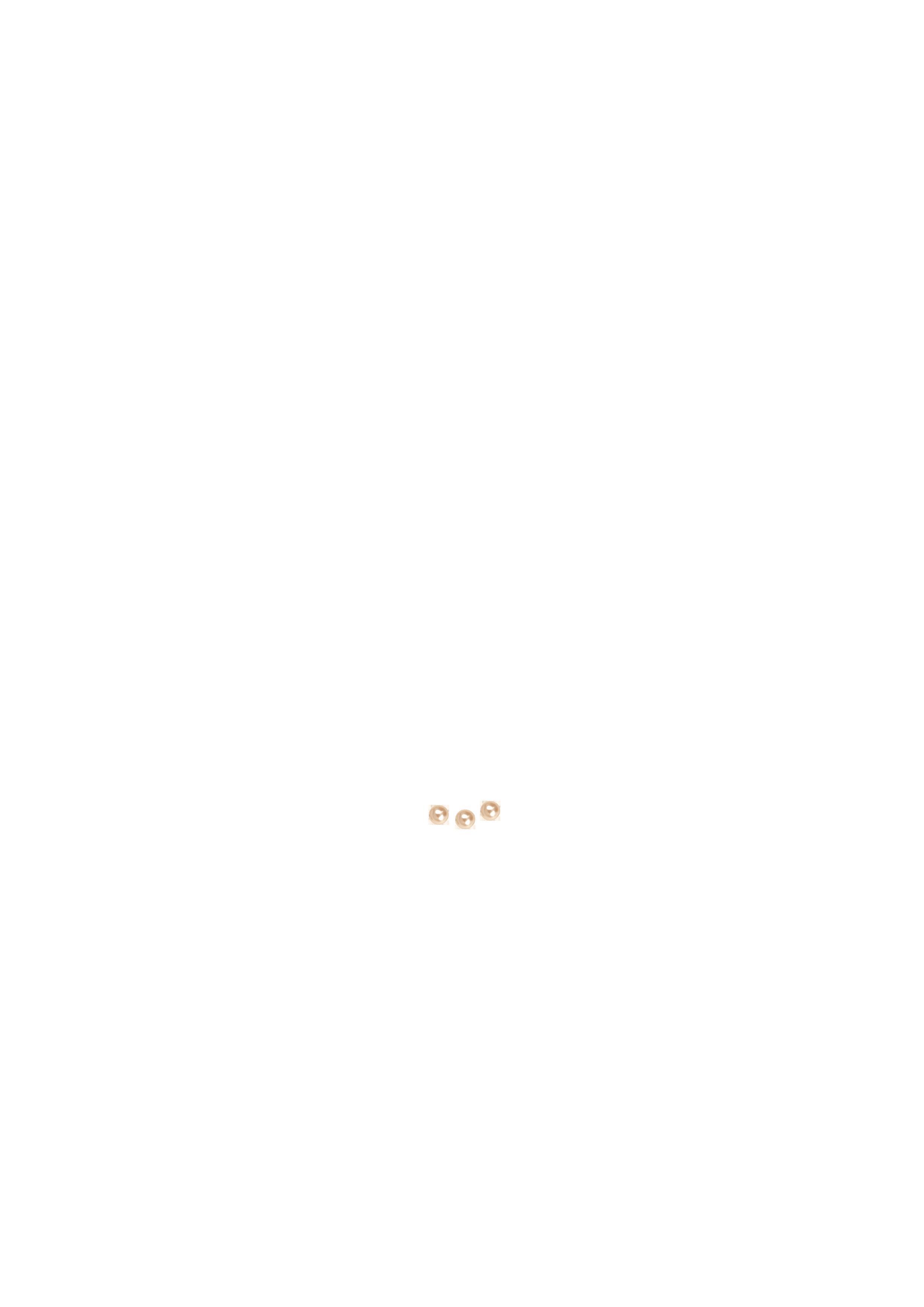 Perles 6mm Swarovski nacrée rose poudré x 3