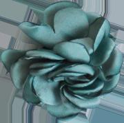 fleur bleu gris