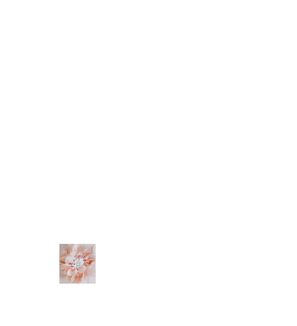 Fleur rose poudré pistils