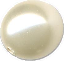 Perle 8mm Swarovski nacrée ivoire