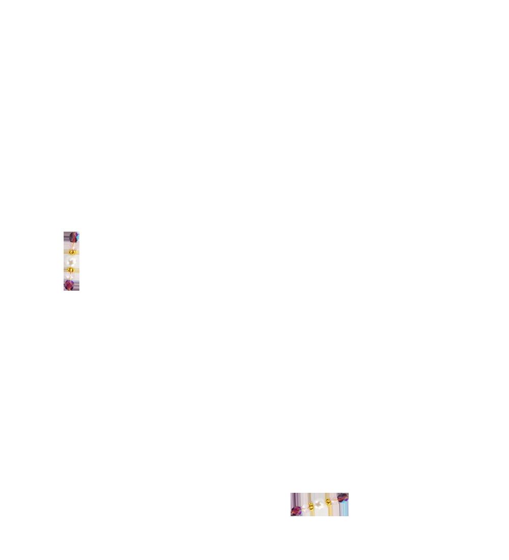 perles violettes