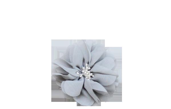 fleur grise