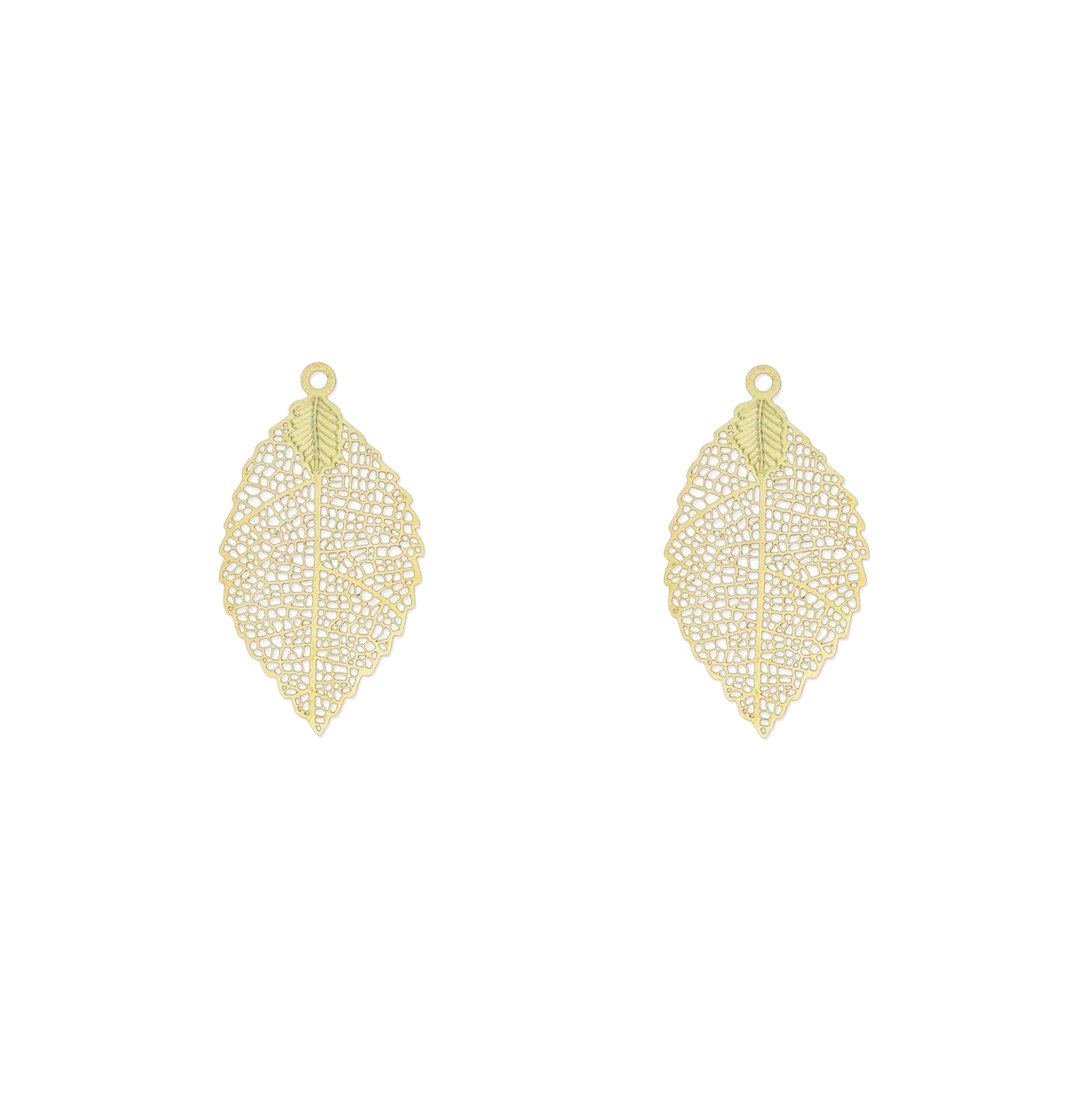 grande feuille dorée