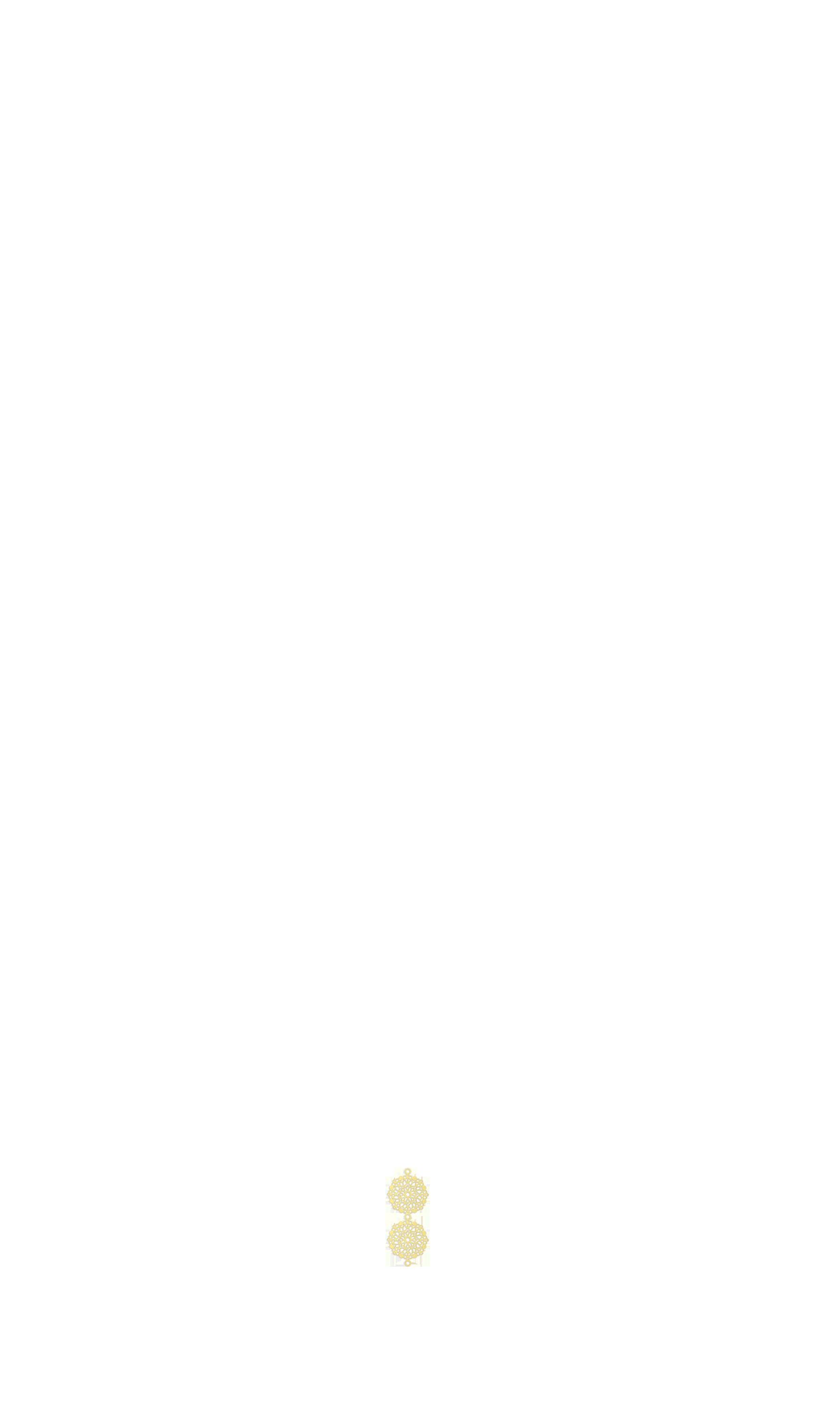 mini estampe ronde bas or x2