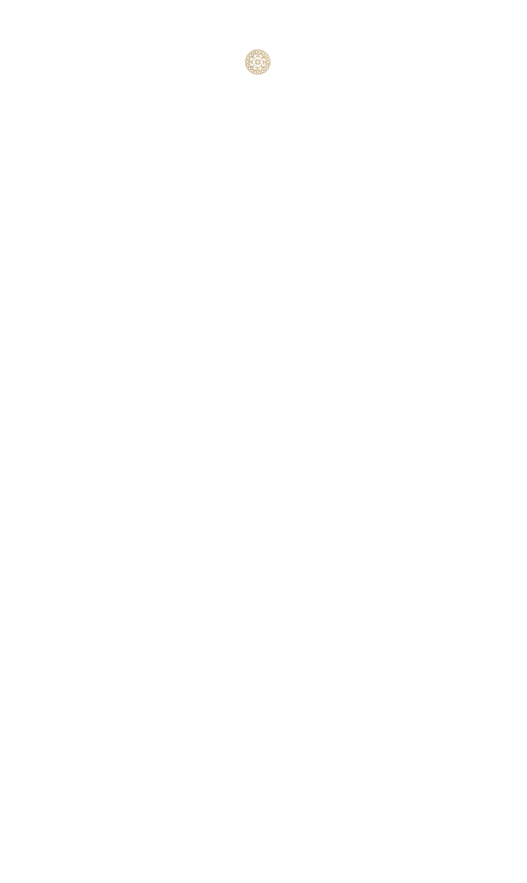mini estampe ronde dorée