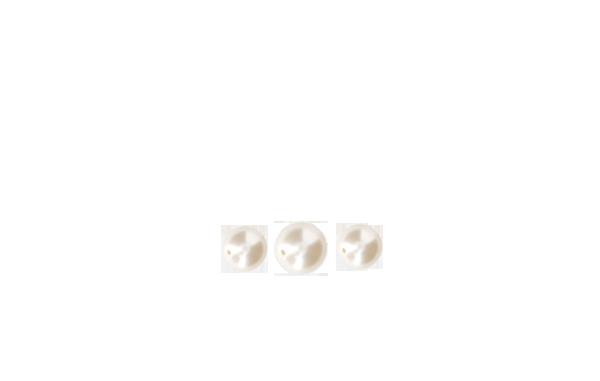 perle milieu nacrée Swarovski blanc naturel 8 mm x3