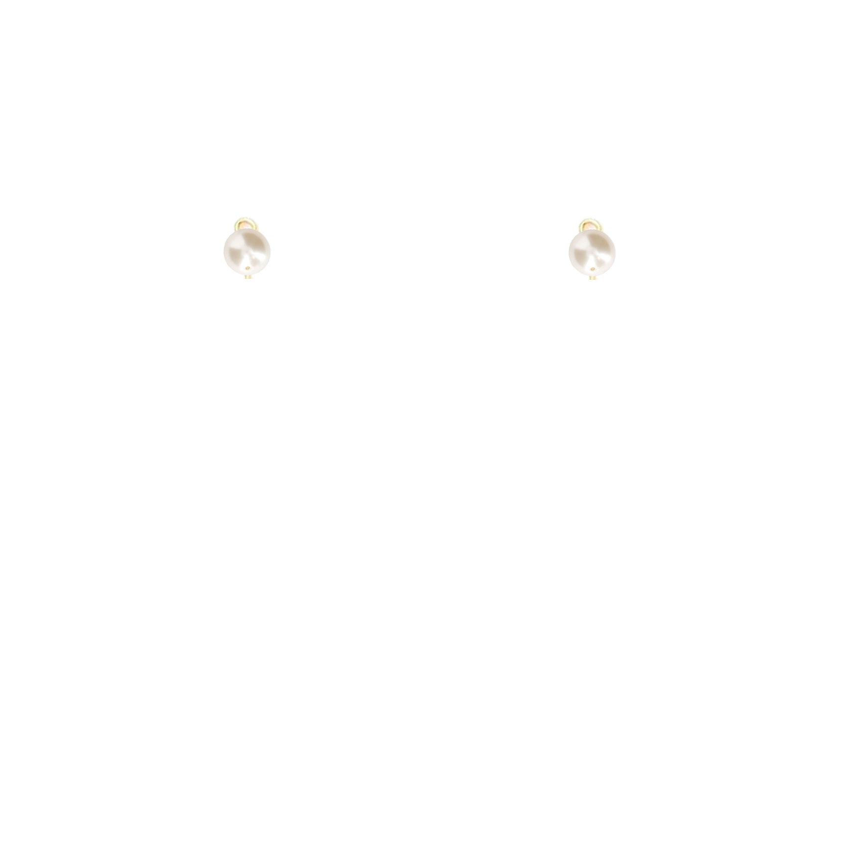 perles haut nacrées Swarovski 8mm blanc naturel