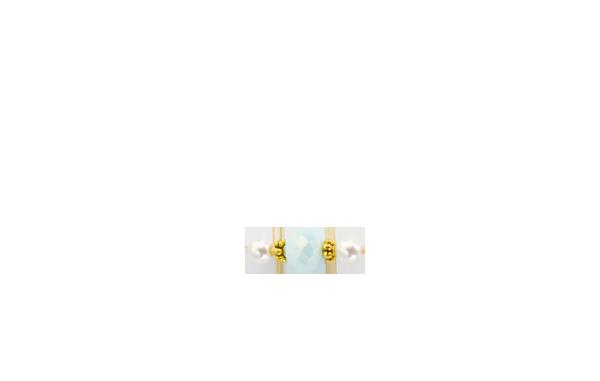 perles vert d'eau