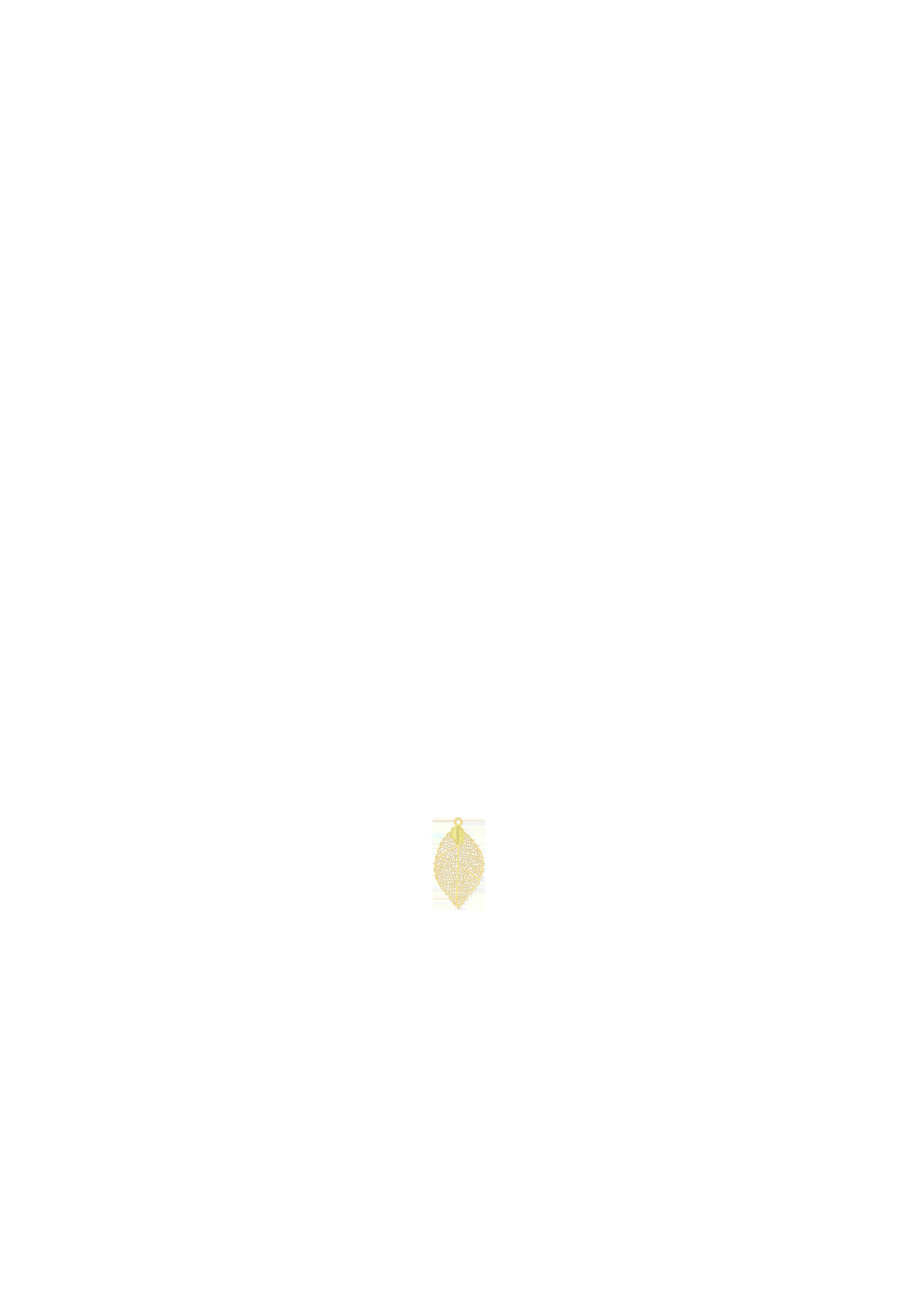 petite feuille dorée