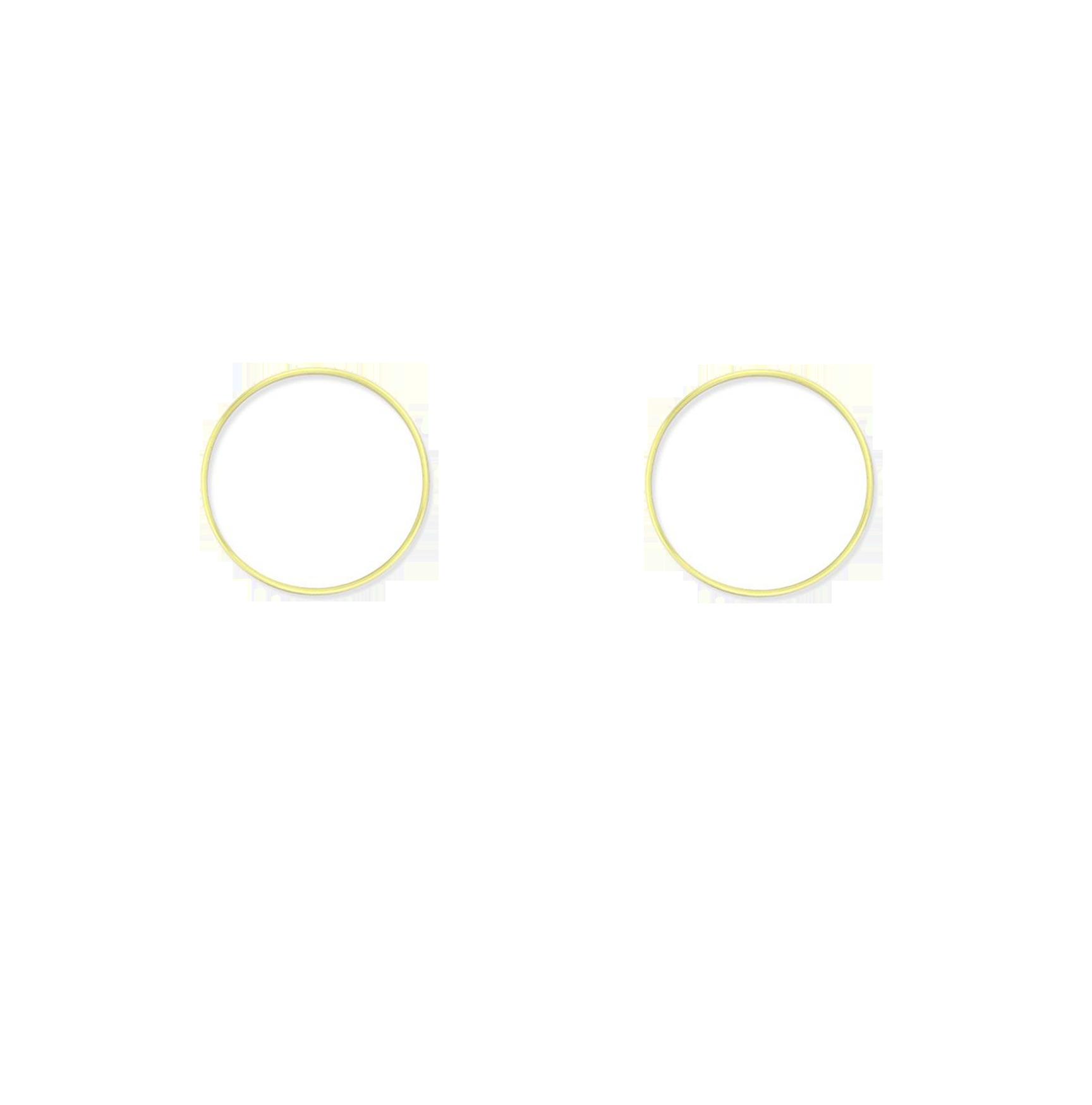 ronds dorés