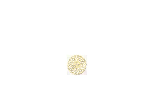 Rosace doré