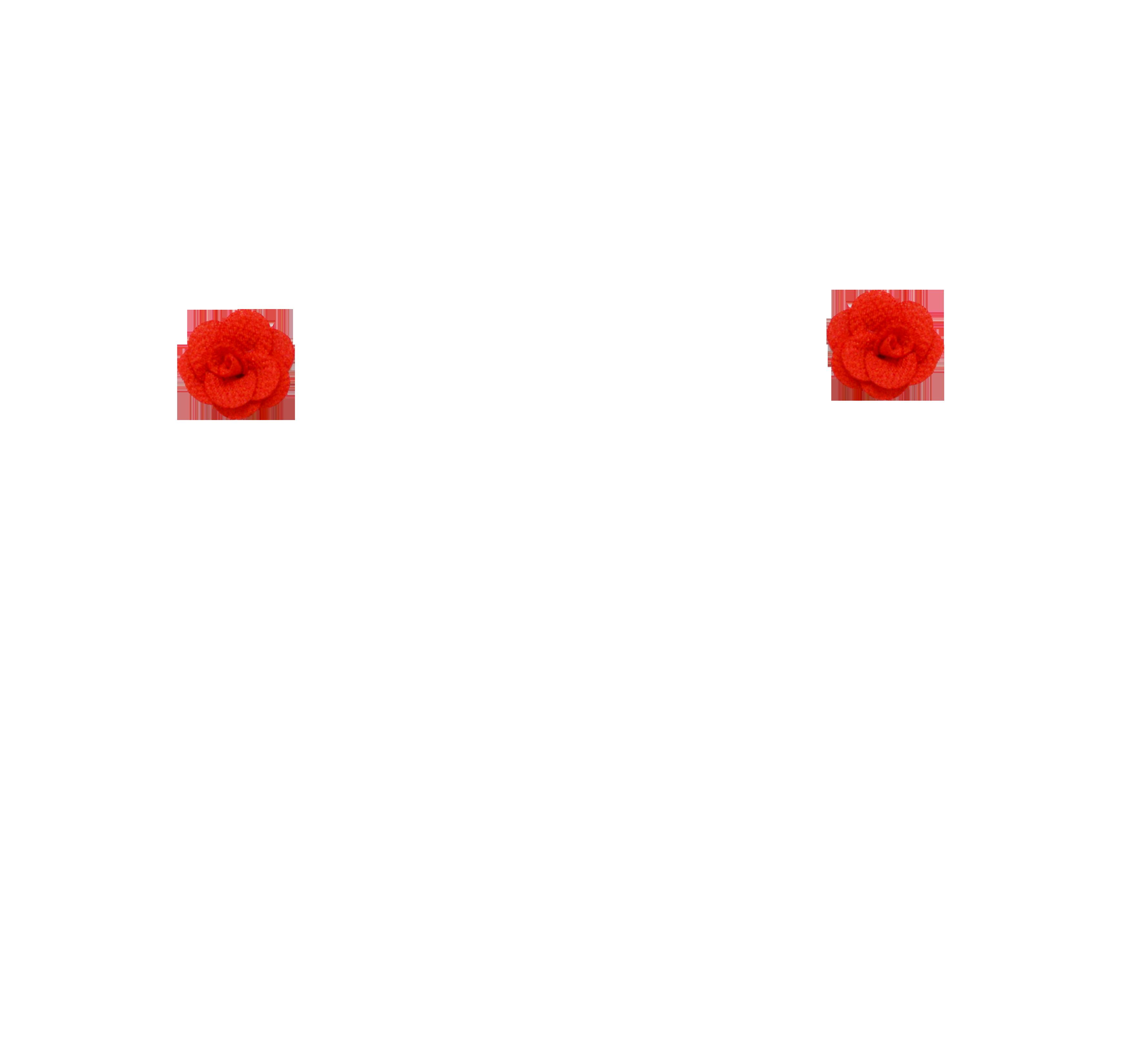 mini rose rouge