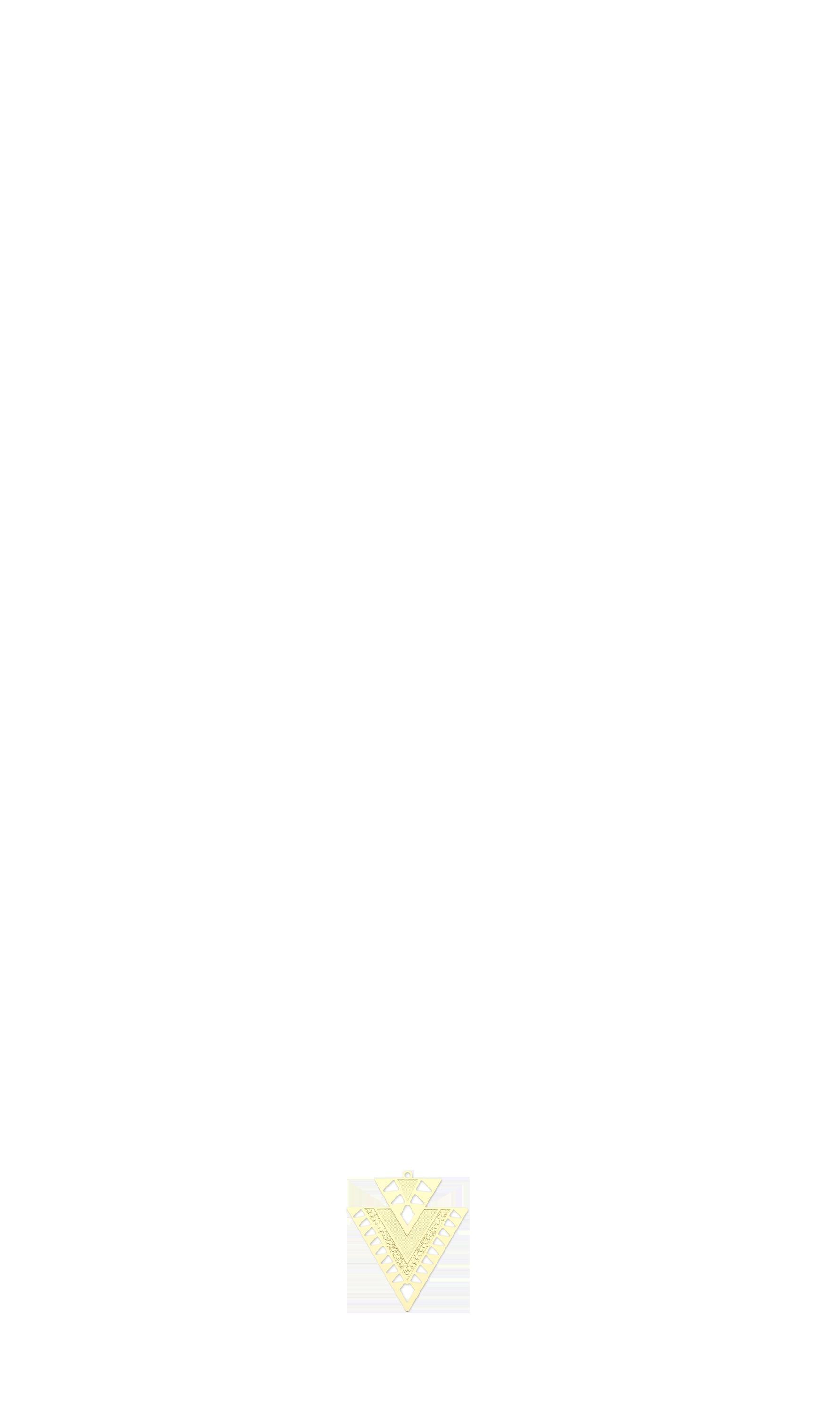 triangle doré bas