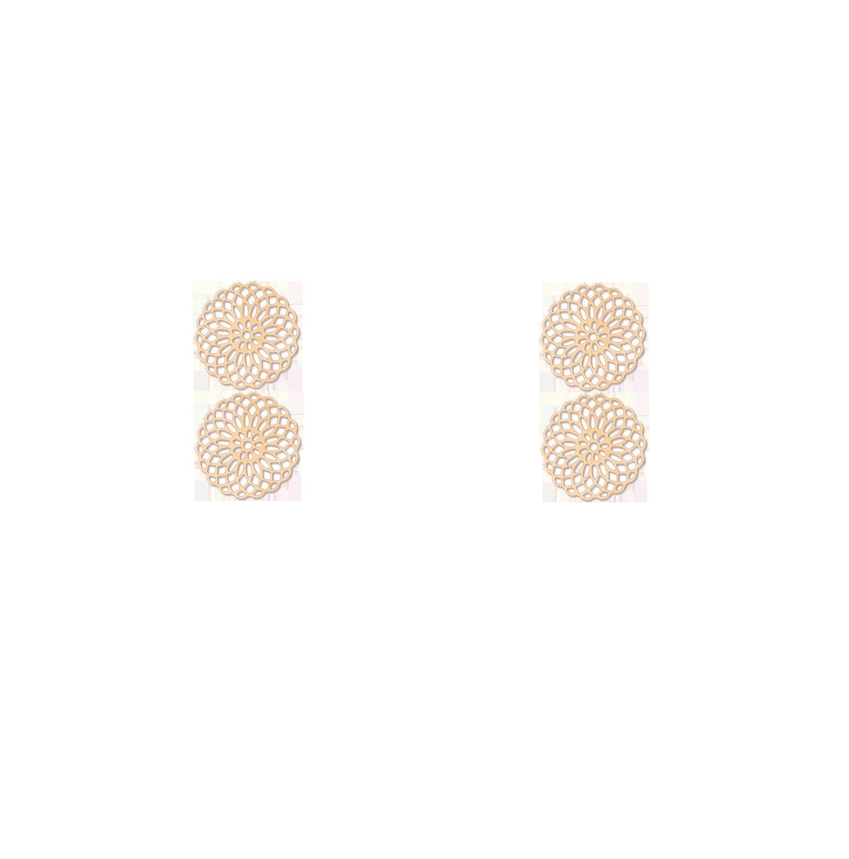 double rosaces