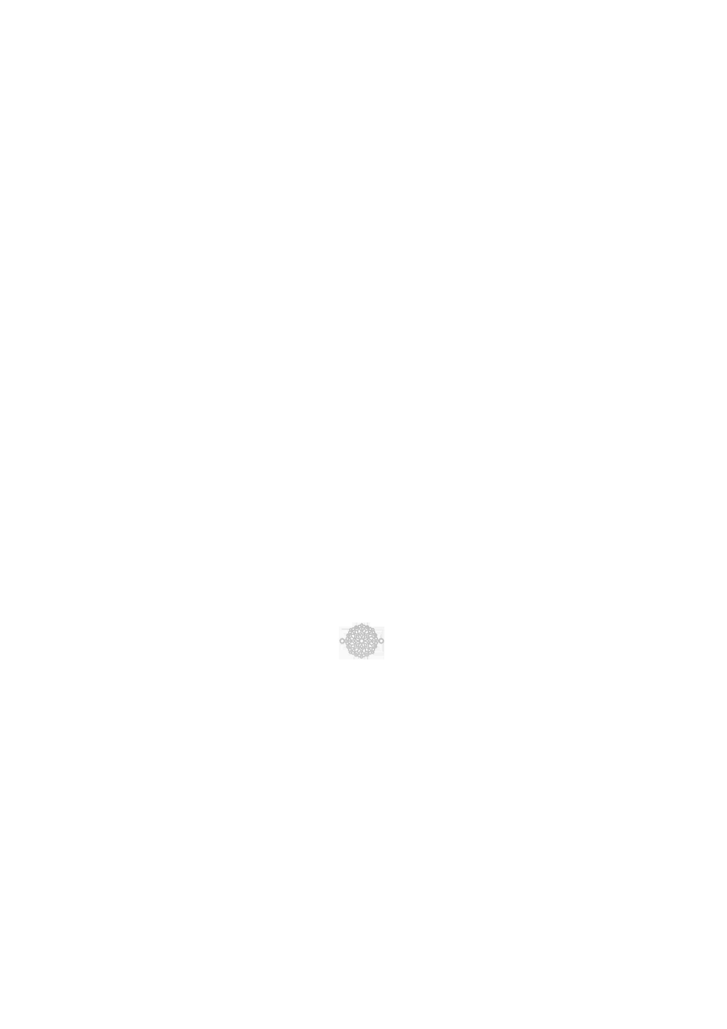 estampe mini rosace dorée
