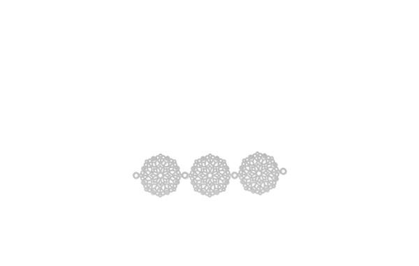 Mini rosaces  x3