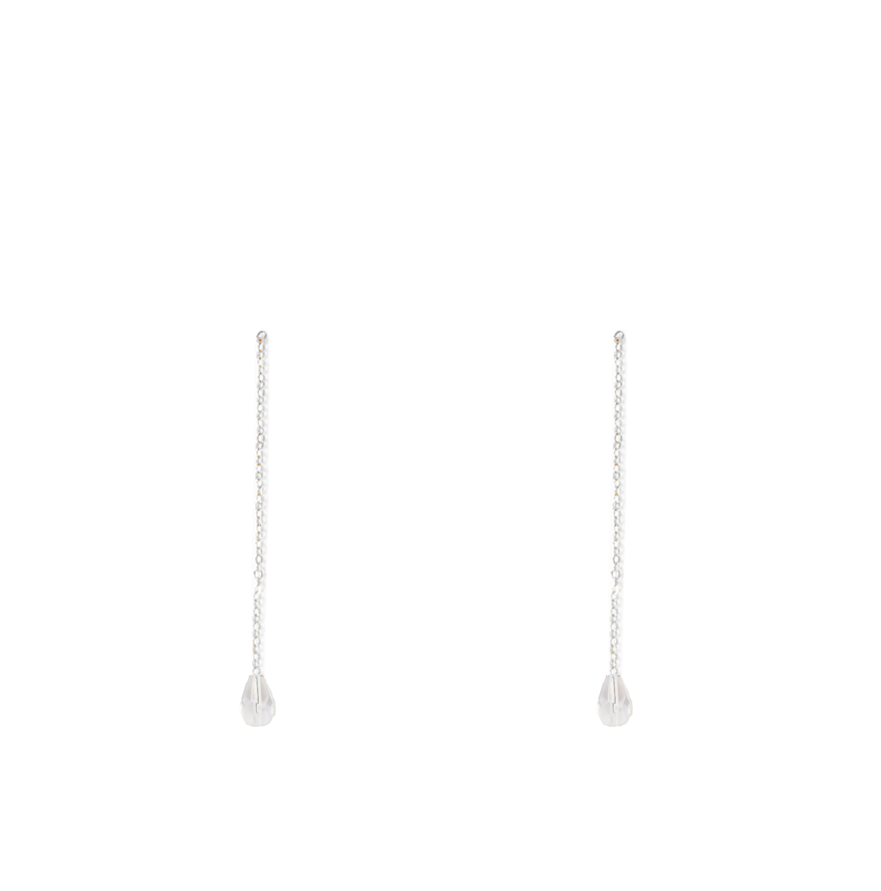 perles cristal pendantes