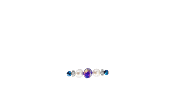 perles bleues