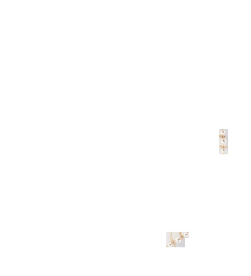perles nacrées blanc naturel