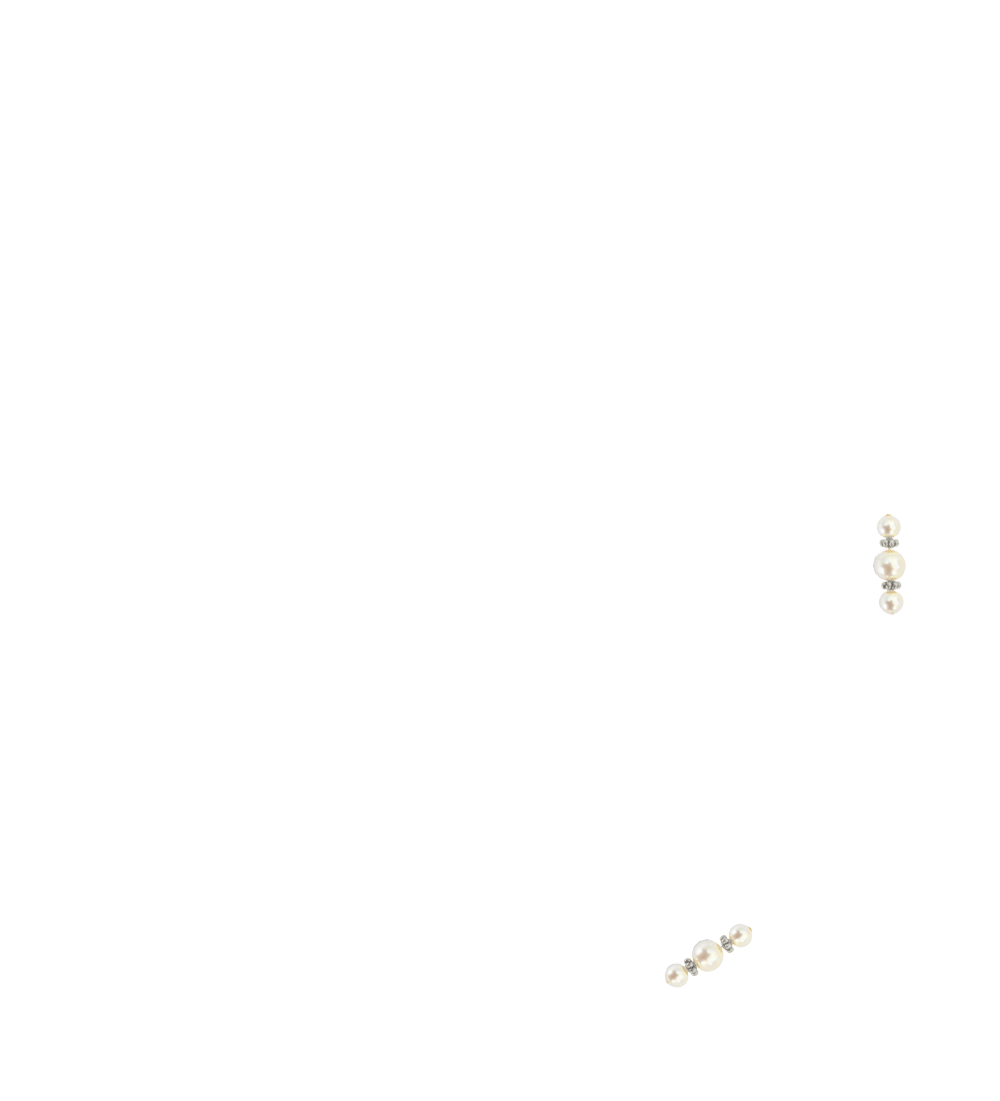 perles nacrées ivoire