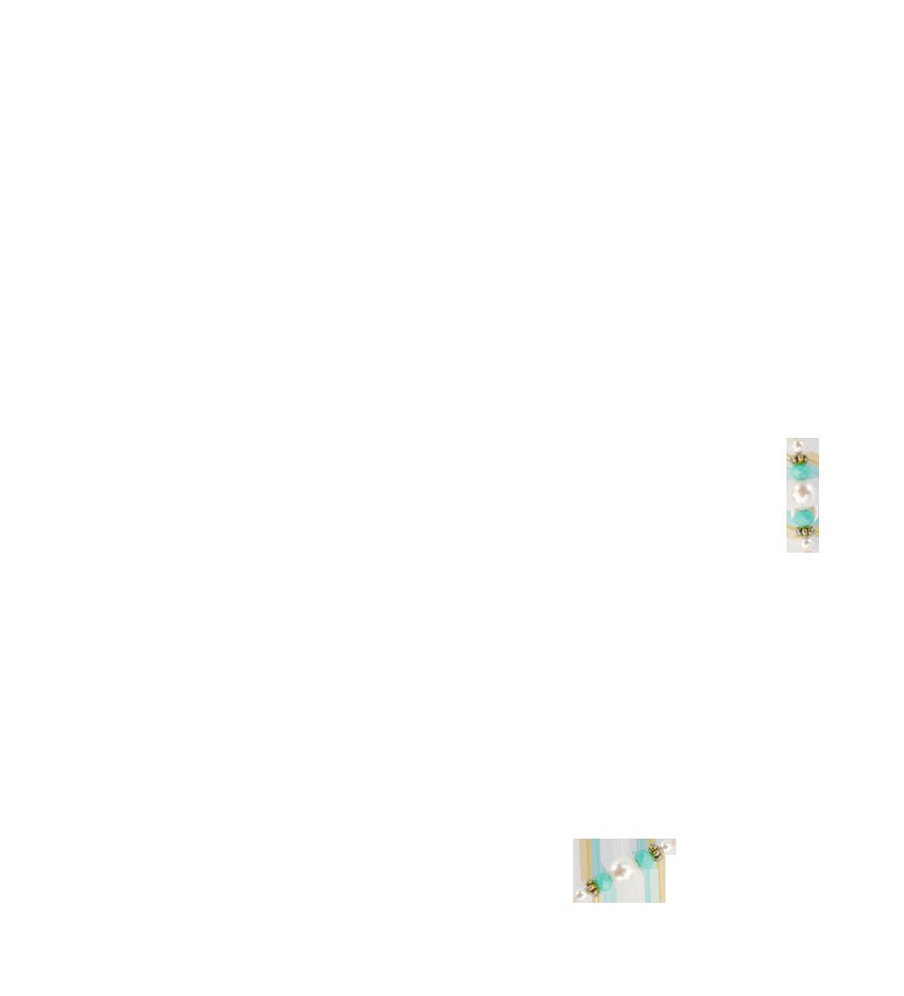 perles turquoise