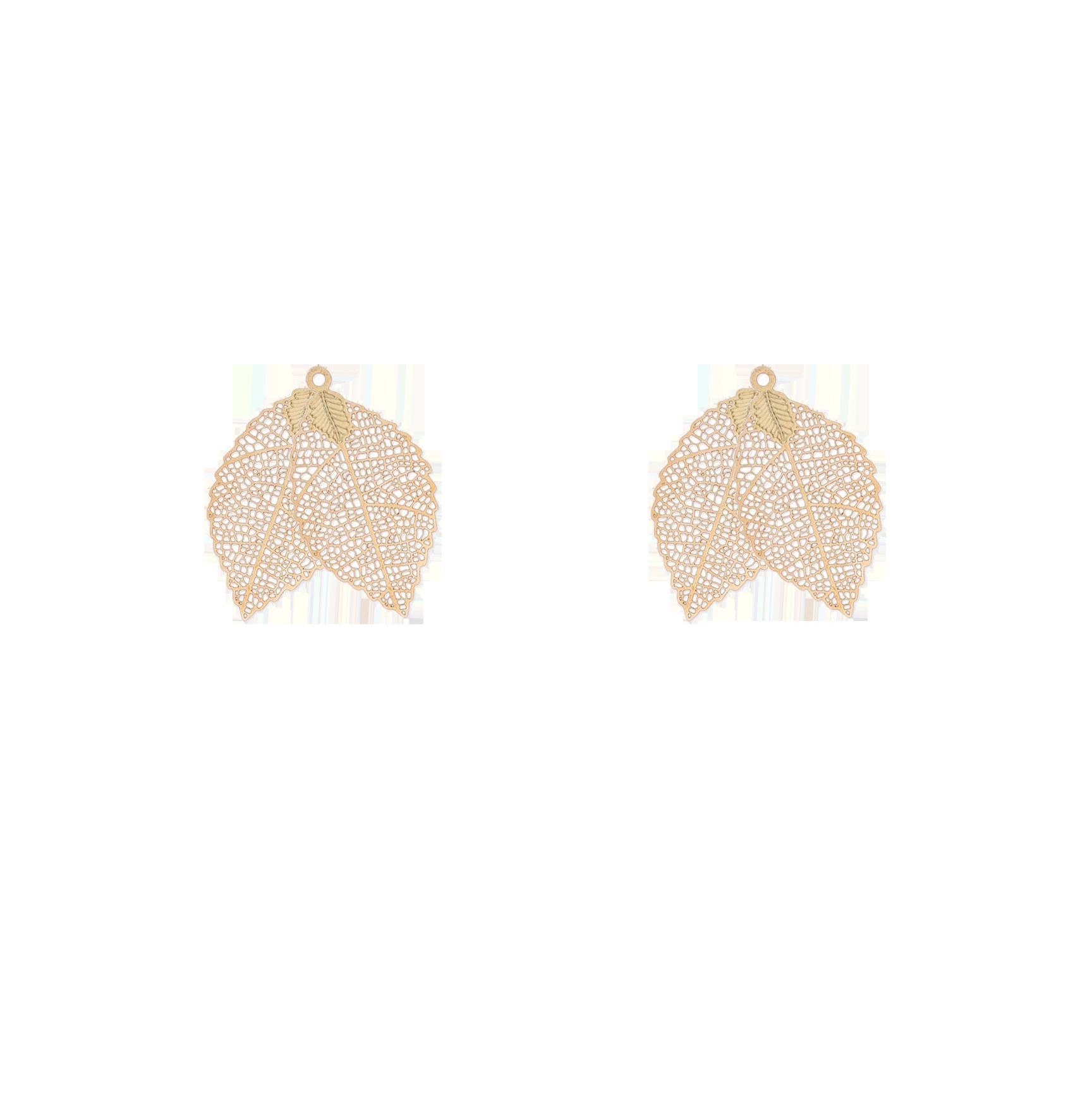 petites feuilles  double