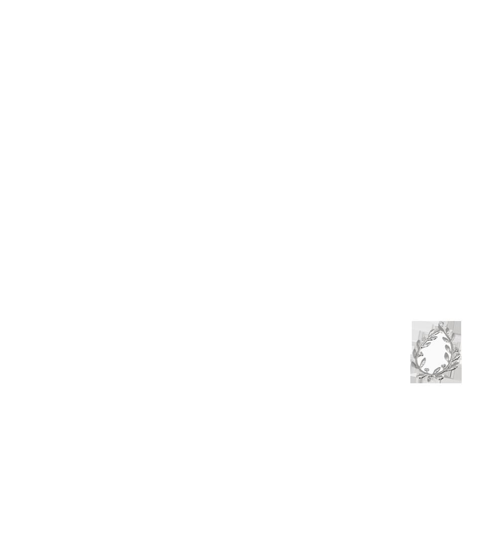 couronne végétale