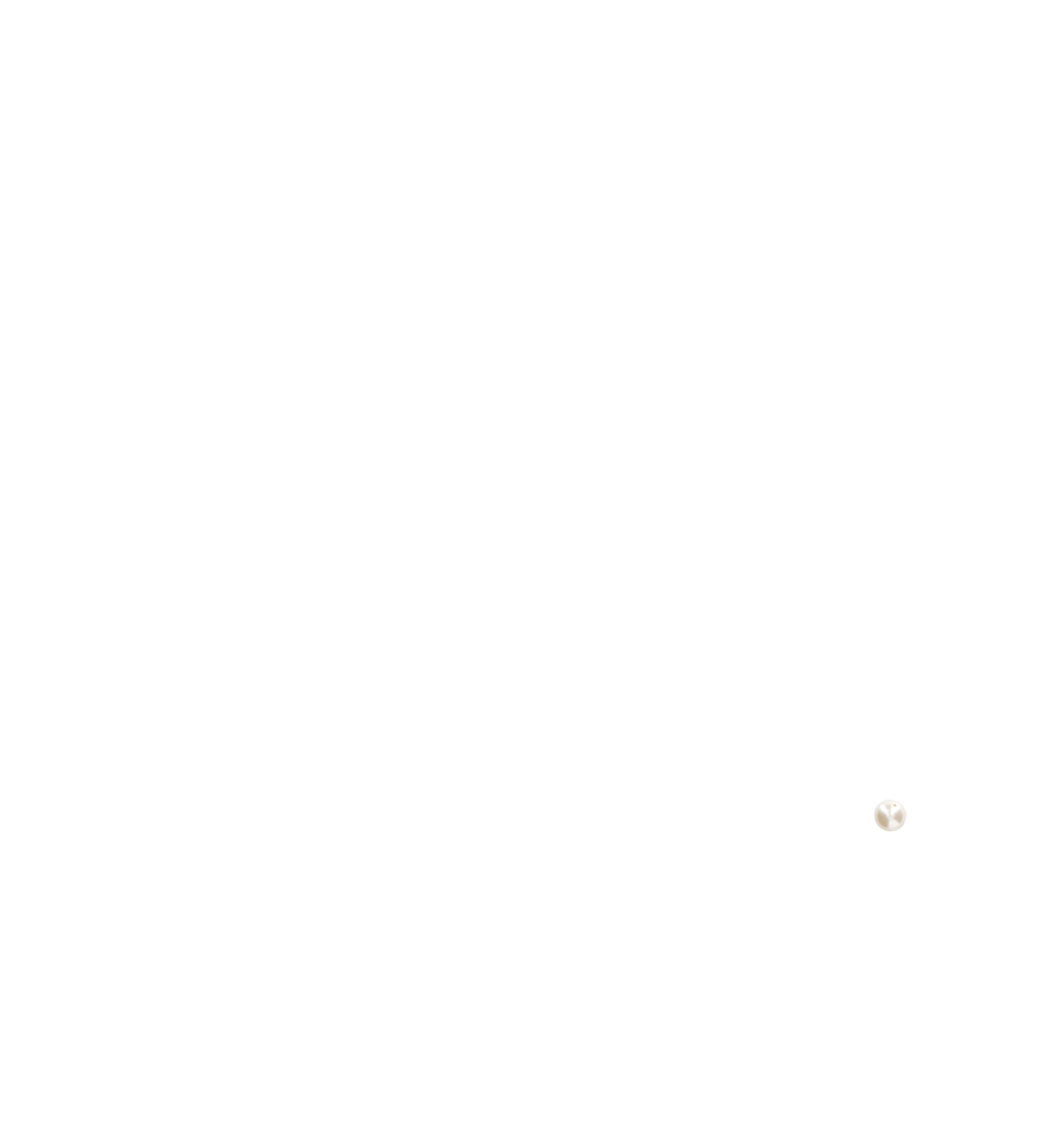 Perle nacrée blanc naturel centre